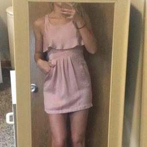 Dresses & Skirts - Blush Mini Cocktail Dress